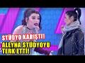 Aleyna Eroğlu , Deniz Serkanovayı İtti, Stüdyoda Kavga Çıktı!