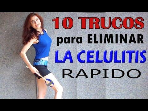 ELIMINAR LA CELULITIS RAPIDAMENTE-10 trucos para eliminar celulitis de piernas y gluteos