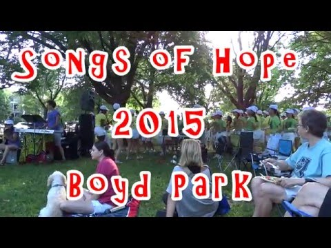 Songs of Hope 2015 Boyd Park