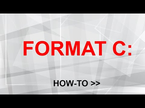 How To Format C Drive In Windows 10 And Reinstall Windows 10