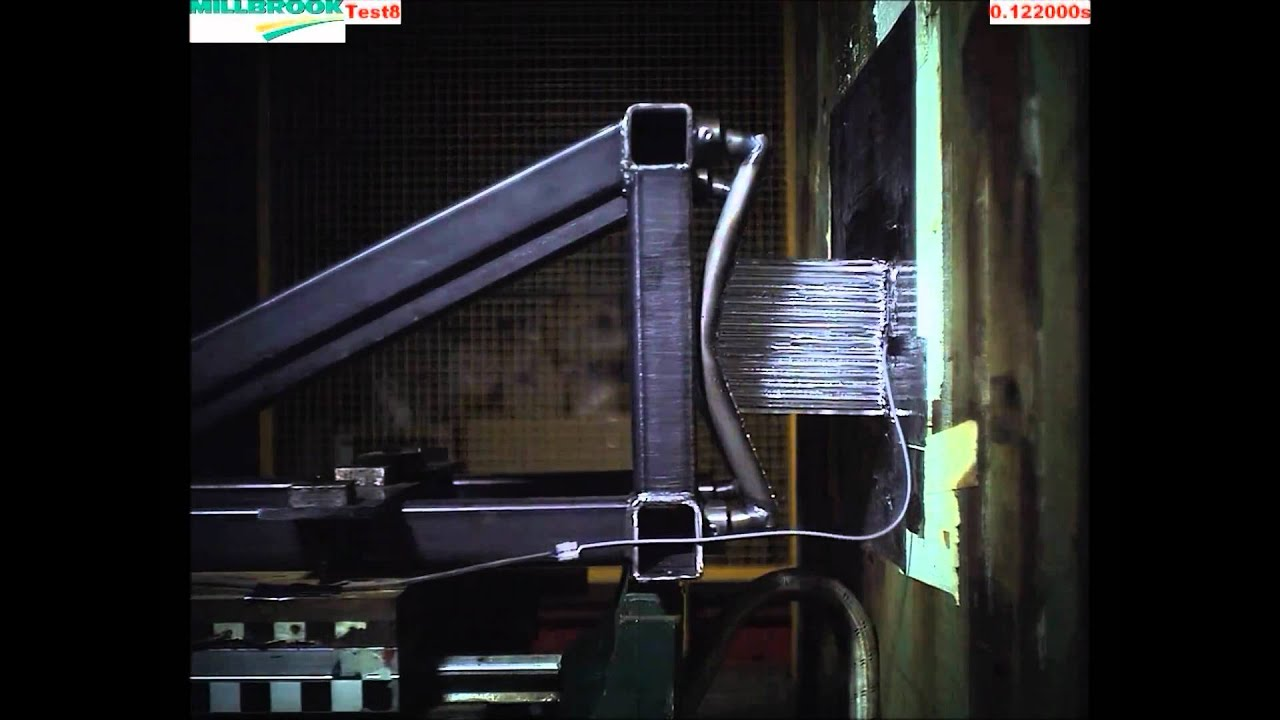 UH Racing Impact Attenuator Testing 2011 - YouTube