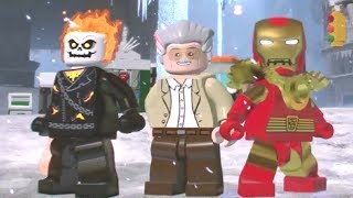 LEGO Marvel Super Heroes 2 - Manhattan 100% Guide (All Collectibles)