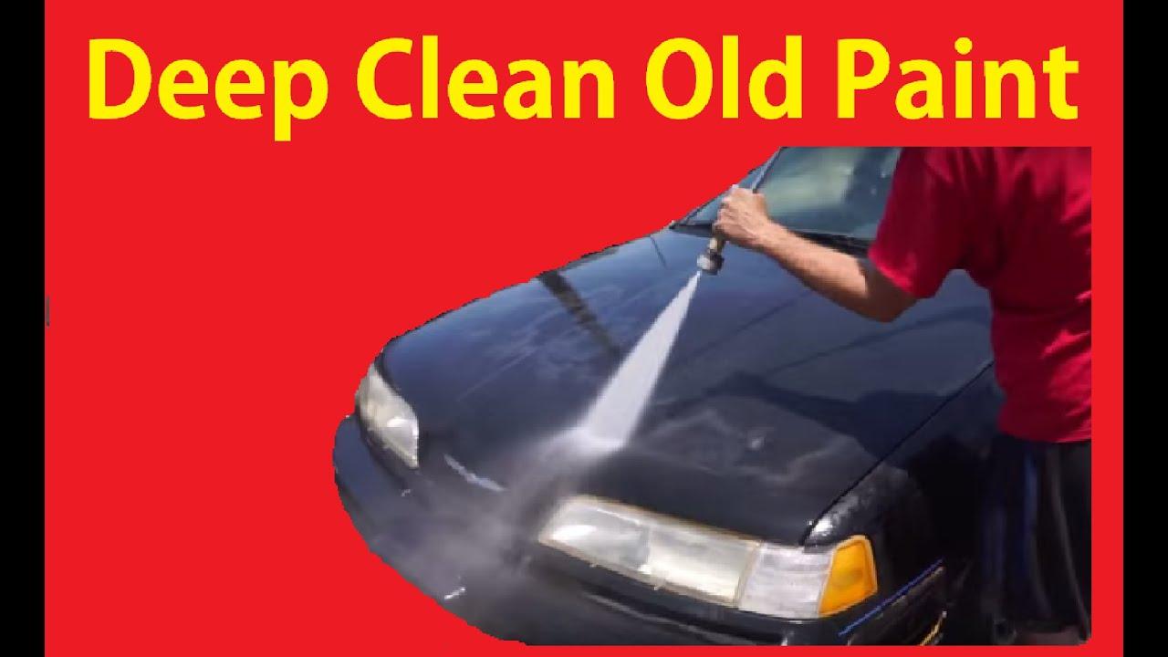 Diy pressure washing cars complete power wash car detail 4 youtube solutioingenieria Choice Image