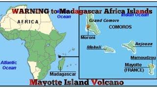 WARNING 2 Dreams - Madagascar Sinks - Mayotte Earthquake Volcanic Eruption - Africa Islands Warning!