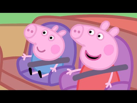 Peppa Pig Episodes - Car Compilation - Cartoons for Children