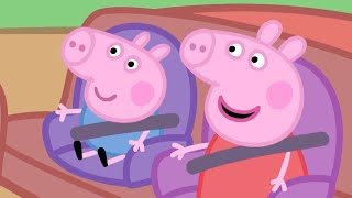 Peppa Pig Official Channel | Peppa Pig's Car Compilation thumbnail