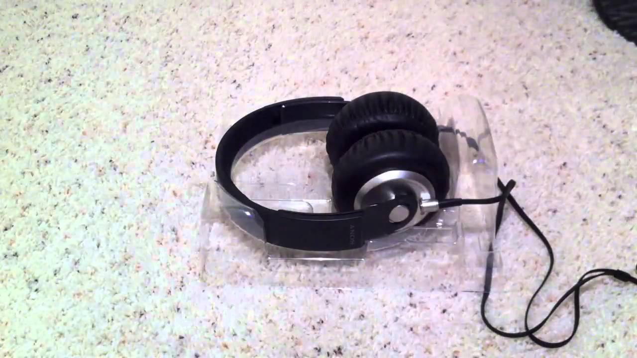 maxresdefault unboxing sony mdr xb500 extra bass 40mm driver over ear  at aneh.co