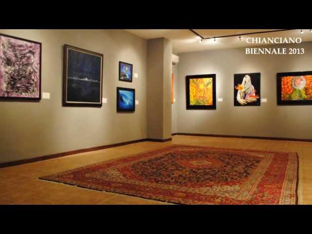 Mona Youssef, International Fine Artist-Leonardo Award at Chianciano Biennale, 2013