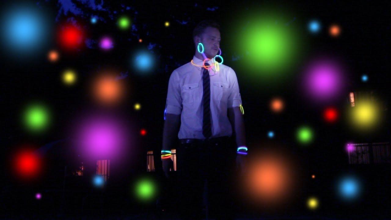 Glow Stick Pool Party Youtube