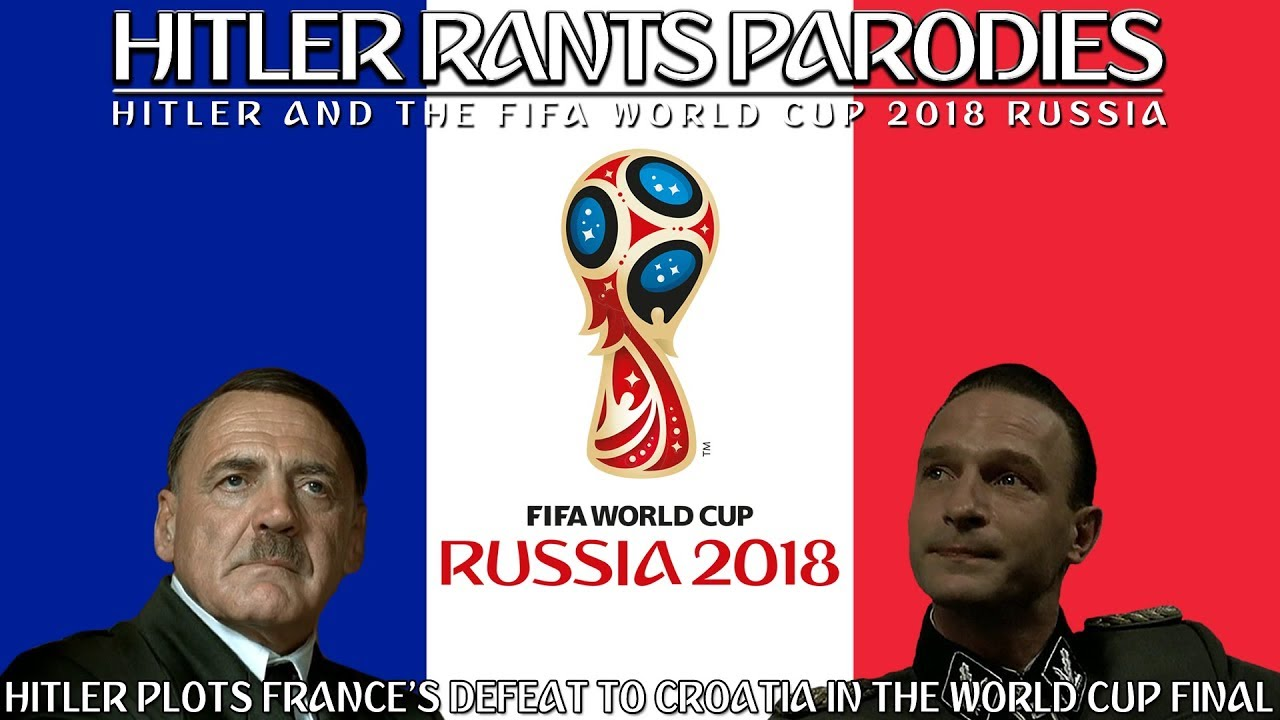 Hitler plots France's defeat to Croatia in the World Cup Final
