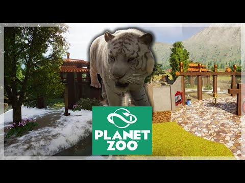Awesome Siberian Tigers!! | Planet Zoo Ep.15