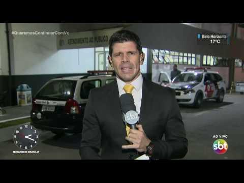 Bandido é baleado durante assalto a micro-ônibus em São Paulo - SBT Notícias (29/03/17)