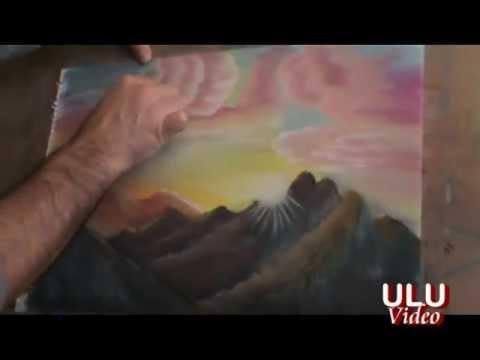 Pastel Boya Ve Parmak Ile Resim çizme Tekniği 2 Erol Ulu Youtube