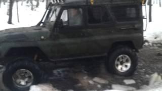 Бешаный УАЗ  дизель На фбелах