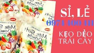 Sỉ, Lẻ / Kẹo Dẻo Trái Cây Milk Soft Candy Thái Lan Đủ Vị/ 0974 400 411