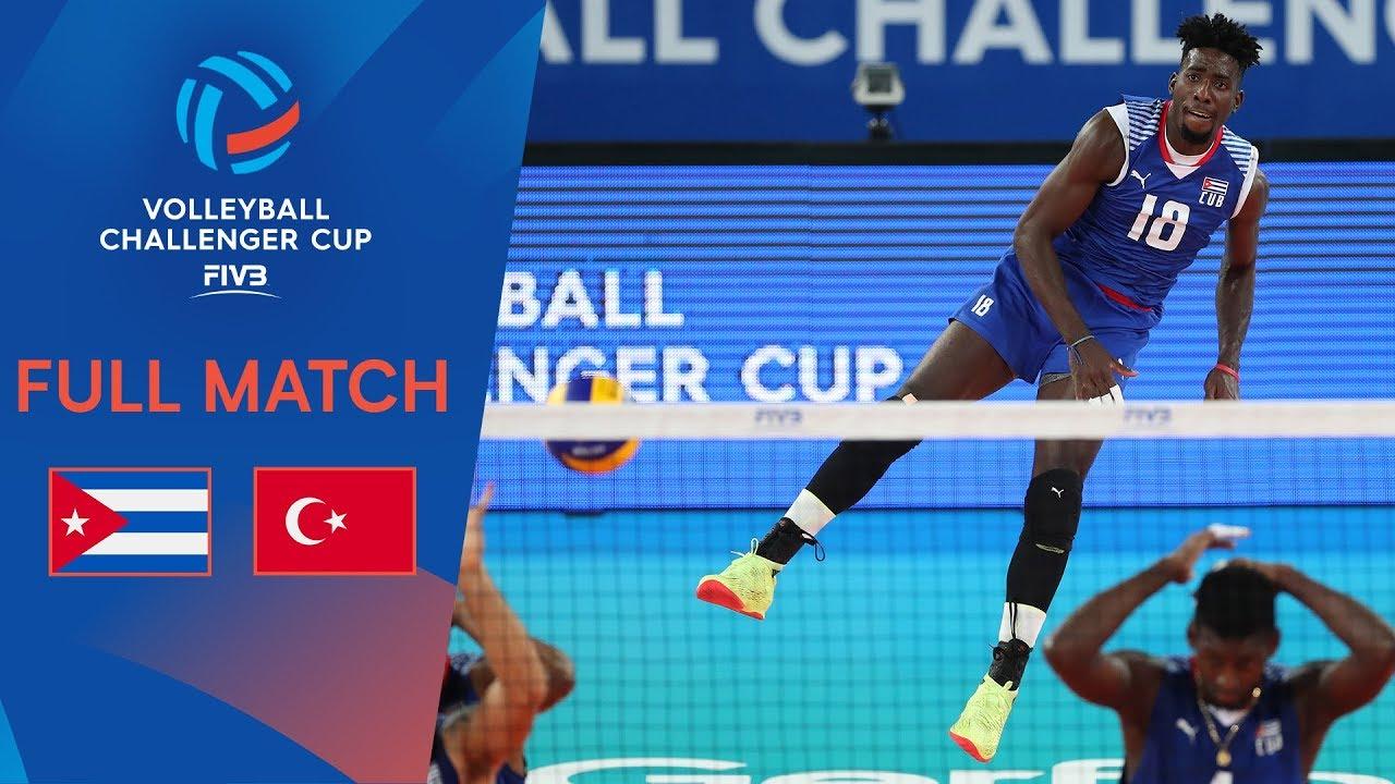 951b91427cc Cuba vs Turkey | Full Match | 2019 FIVB Men's Volleyball Challenger ...