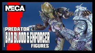 TOY SPOT | NECA Predator Ultimate Bad Blood & Enforcer Two-Pack