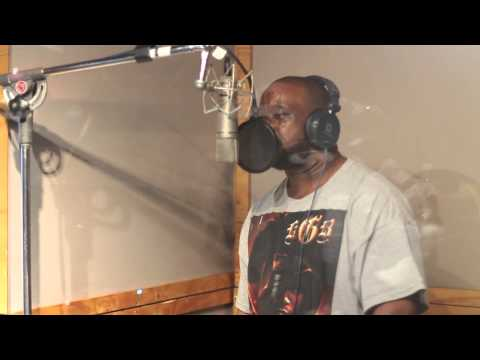 """KOOL G RAP DOES ADLIBS ON """"ONCE UPON A CRIME"""" - BEHIND THE SCENES #6 (THE GODFATHERS/NECRO)"""