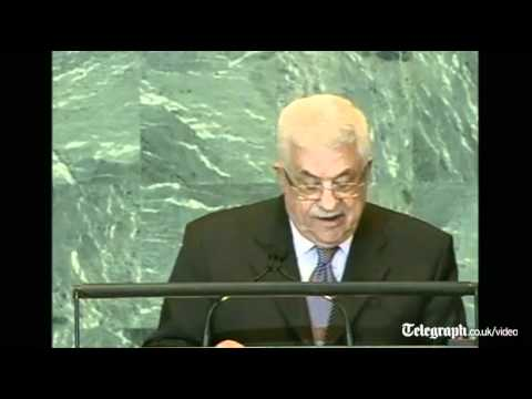 Mahmoud Abbas launches UN Palestine statehood bid