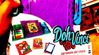 Doh Vinci [by Play-doh] Anywhere Art Studio Easel & Storage Case Product Review