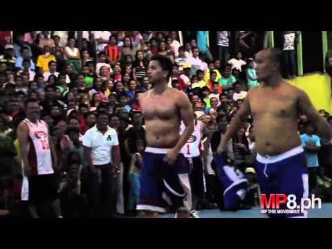 Manny Pacquiao - Philippine Celebrity Basketball Fun! - Slang Festival 2011