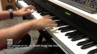 THE WIZARD OF OZ - WE'RE OFF TO SEE THE WIZARD (PIANO ARRANGEMENT)