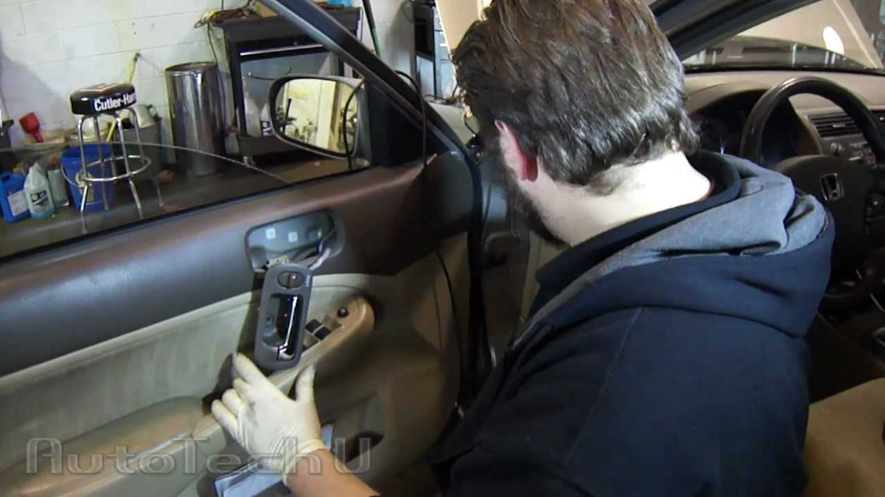 Honda Civic Power Door Lock Fix Episode 1  YouTube