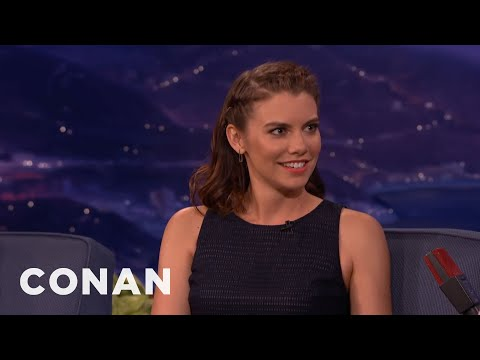 Lauren Cohan Wants A Zombie Fitbit  - CONAN on TBS