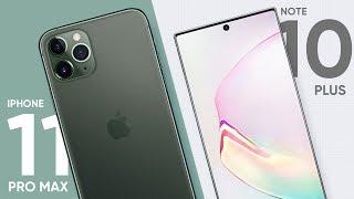 iPhone 11 Pro Max so vi Galaxy Note 10+ th no