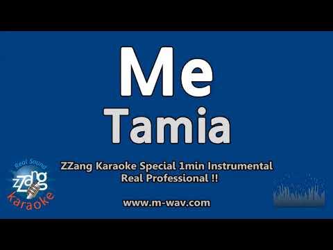 Tamia-Me (1 Minute Instrumental) [ZZang KARAOKE]