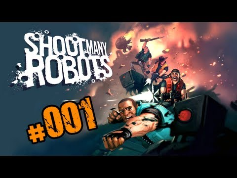 Let's Play - Shoot Many Robots - #001 Mein Liebesgnom [HD|DE|Together] thumbnail
