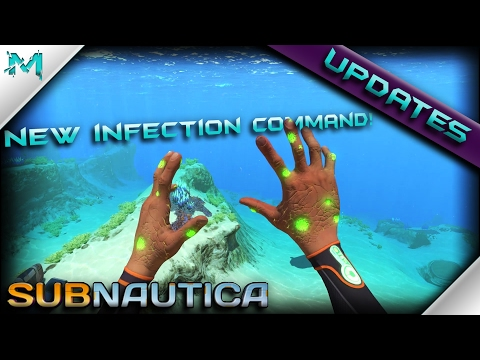 Subnautica UPDATES! New INFECTION Reveal/Command INGAME! New Generator Cubes And MORE!