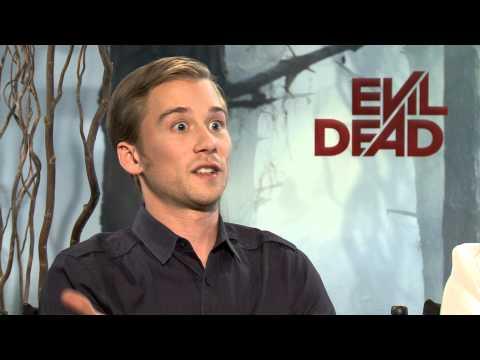 Evil Dead 2013 Exclusive: Shiloh Fernandez, Jessica Lucas, Lou Taylor Pucci