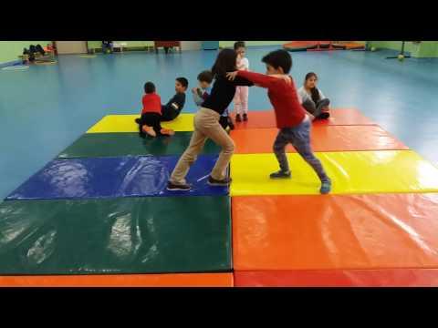 Motor Skills Wrestling Primary Education For Kids  Çocuklar İçin Güreş Temel Eğitimi