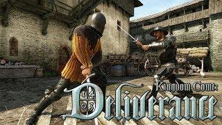 Стрим - Kingdom Come: Deliverance #4 [ Учимся драться и воровать, ну и к Терезе наведаемся ]