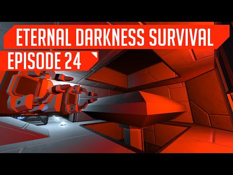 [#24] Medical Bay & CARA's Access Point! (Eternal Darkness Space Engineers Survival)