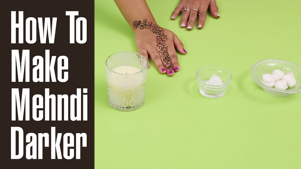 Hand Mehndi Tips : 4 simple tips to get dark mehndi stains youtube