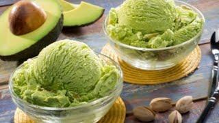 CÁCH LÀM KEM BƠ MỀM DẺO KHÔNG BỊ DĂM ĐÁ / how to make delicious avocado ice cream at home
