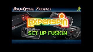 Hyperspin- Set up Fusion