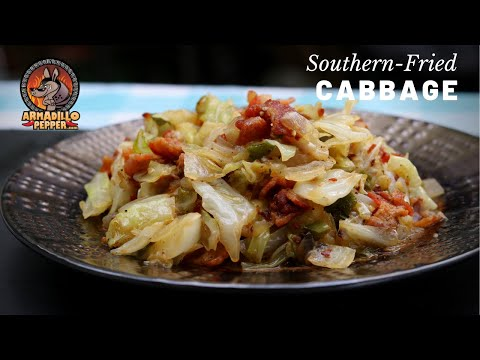 how-to-make-southern-fried-cabbage-with-bacon!