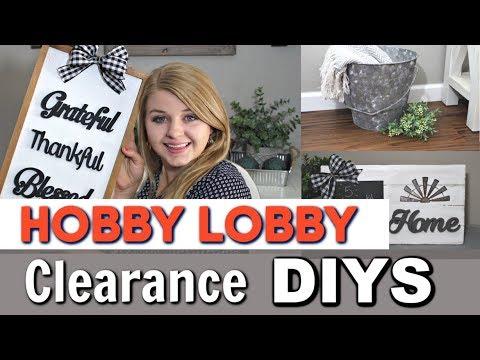 ⭐Hobby Lobby Farmhouse DIY Ideas | DIY Farmhouse Home Decor | Krafts by Katelyn
