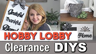 ⭐Hobby Lobby Farmhouse DIY Ideas | DIY Farmhouse Home Decor | Krafts by Katelyn