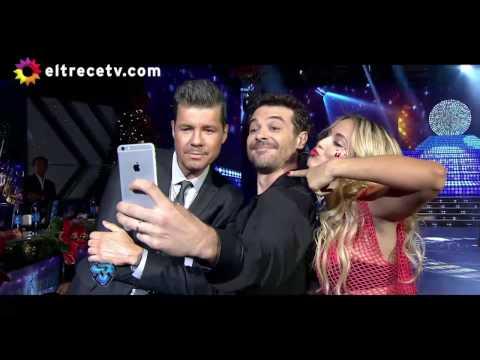 Pedro Alfonso sorprendió a todos e hizo participar a su hija Olivia y a Tinelli en la coreo