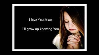 I love You Jesus Kids Prayer