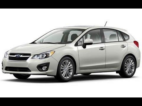 2012 Subaru Impreza Sedan Review 2.0 L 4-Cylinder PZEV ...