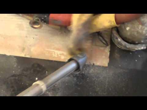 Glazuur Tegel Repareren : Vloertegel reparatie youtube
