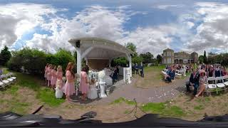 Laura and Dean 360 VR Wedding Day