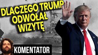 Dlaczego NAPRAWDĘ Trump Odwołał Wizytę w Polsce - Huragan to PRETEKST - Analiza Komentator Polityka