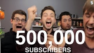 500,000 Subscribers!!