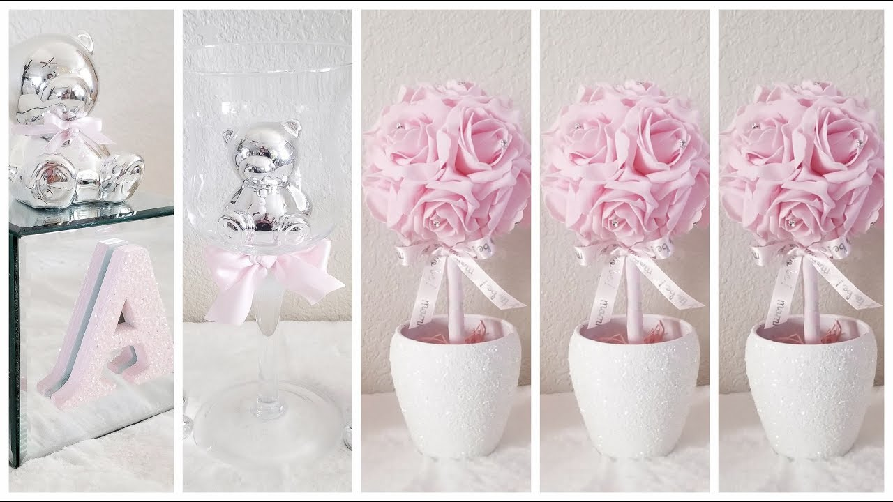 Diy 3 Quick And Easy Baby Shower Centerpieces 3 Inexpensive Diys